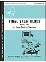 Final Exam Blues Sheet Music