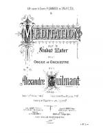 Meditation sur le Stabat Mater Sheet Music