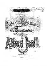 Fille du Regiment op.27 Sheet Music