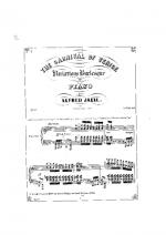 Karneval in Venedig op.22 Sheet Music