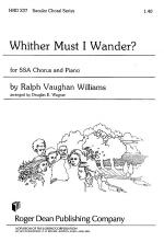 Whither Must I Wonder Sheet Music