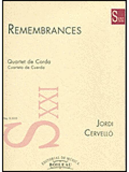 Remembrances Sheet Music