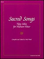 Sacred Songs Sheet Music