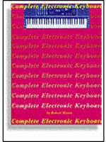 Complete Electronic Keyboard Sheet Music