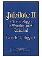 Jubilate II (Church Music In Worship and Renewal) Sheet Music