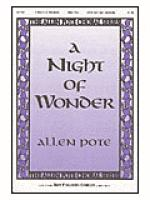 A Night of Wonder Sheet Music