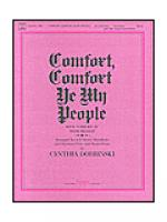 Comfort, Comfort Ye My People Sheet Music