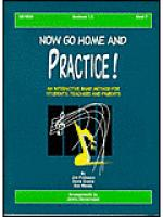 Now Go Home And Practice Book 2 Baritone TC Sheet Music