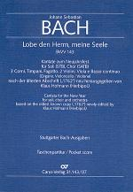 Lobe den Herrn, meine Seele (I) (Praise ye the Lord, God, o my spirit) Sheet Music
