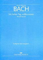 Sei, lieber Tag, willkommen (O joyful time, we greet you) Sheet Music