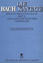 Ach Gott, wie manches Herzeleid (O God, what glut of care and pain) Sheet Music
