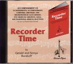 Recorder Time, Book 1 - accompaniment CD Sheet Music