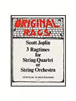 Ragtimes (3) for String Quartet/Quintet/ Orchestra Sheet Music