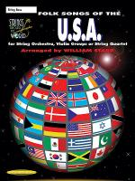Strings Around the World -- Folk Songs of the U.S.A. Sheet Music