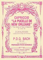 Capriccio La Pucelle De New Orleans (the Maid of New Orleans) Sheet Music