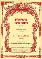 Fanfare for Fred Sheet Music