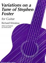 Variations On A Tune of Stephen Foster Sheet Music