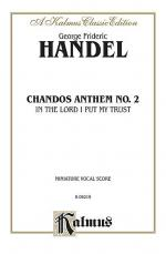 Chandos Anthem No. 2 - In the Lord I Put My Trust Sheet Music