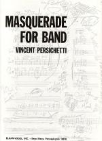 Masquerade for Band Sheet Music