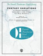 Fantasy Variations (on George Gershwin's Prelude II for Piano) Sheet Music