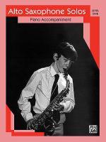 Alto Saxophone Solos Sheet Music