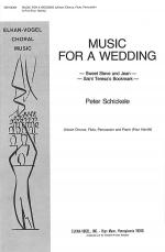 Music for A Wedding Sheet Music