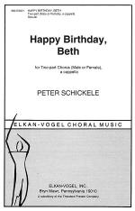 Happy Birthday, Beth Sheet Music