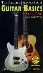 Ultimate Beginner Series - Guitar Basics, Step One For Electric Or Acoustic Guitar (VHS) Sheet Music