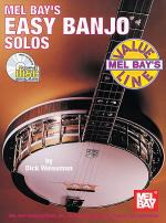 Easy Banjo Solos Book/CD Set Sheet Music