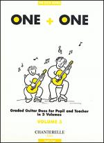 One + One Vol. 3 Pupil's Part Duos for Pupil & Teacher Sheet Music