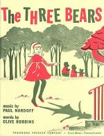 The Three Bears Sheet Music
