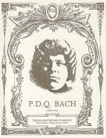 P.D.Q. Bach Portrait Postcard Sheet Music