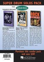 Super Classic Drum Pack 3-DVD Set Sheet Music