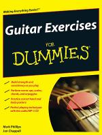 Guitar Exercises for Dummies Book/CD Set Sheet Music