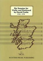 Six Sonatas for Violin and Keyboard Sheet Music