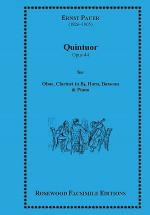 Quintet, Op. 44 Sheet Music