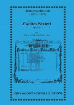 Zweites Sextett, Op. 36 Sheet Music