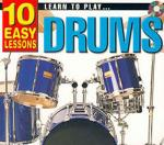 Learn To Play Drums: 10 Easy Lessons - CD & Small Booklet Sheet Music