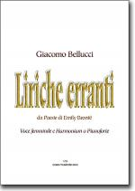 Liriche erranti Sheet Music