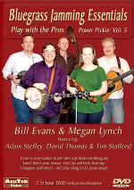 Bluegrass Jamming Essentials - Power Picking Vol. 5 DVD Sheet Music