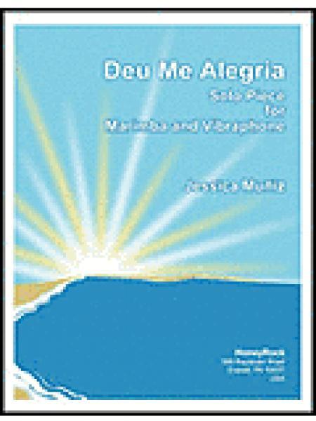 Deu me Alegria Sheet Music
