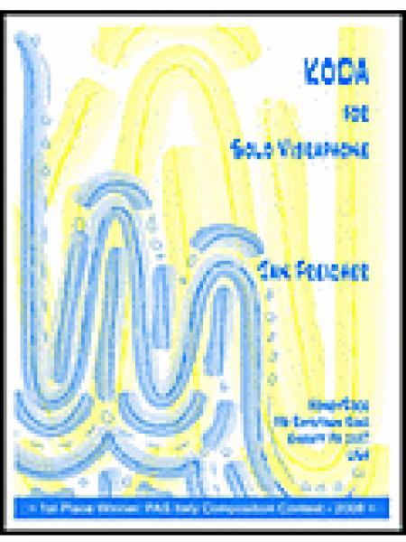 KODA for Solo Vibraphone Sheet Music