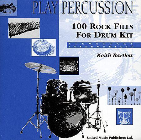 100 Rock Fills for Drum Kit Sheet Music