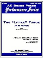 The Little Fugue in g minor Sheet Music