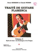Traite guitare flamenca Vol.4 - Styles de base Fandangos et Tangos Sheet Music