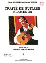 Traite guitare flamenca Vol.5 - Styles de base Buleria Sheet Music