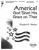 America! God Shed His Grace on Thee - Keyboard/Handbell Score Sheet Music
