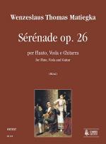 Serenade Op. 26 Sheet Music