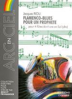 Flamenco-blues pour un prophete Sheet Music