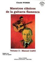 Maestros clasicos de la guitarra flamenca Vol.2 : M. Cano Sheet Music